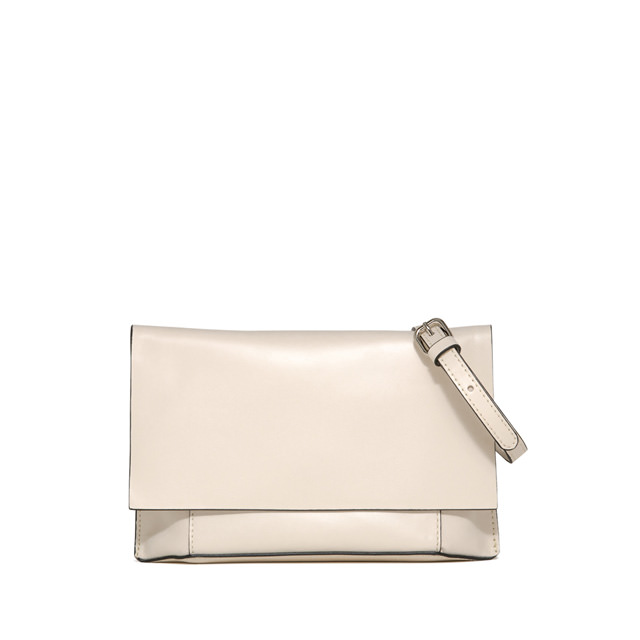 GIANNI CHIARINI POCHETTE CLUTCH MEDIA BIANCA