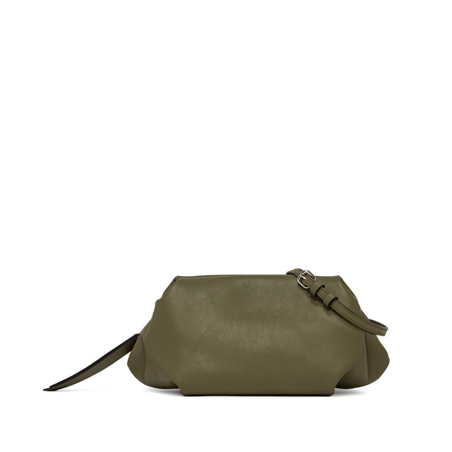 GIANNI CHIARINI: MEDIUM SIZE COLETTE CLUTCH BAG COLOR GREEN