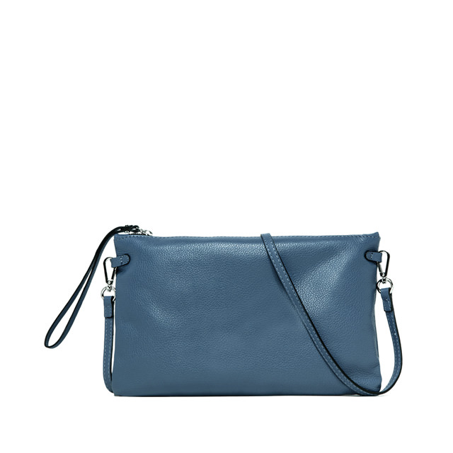 GIANNI CHIARINI: HERMY LARGE SKY BLUE CLUTCH BAG