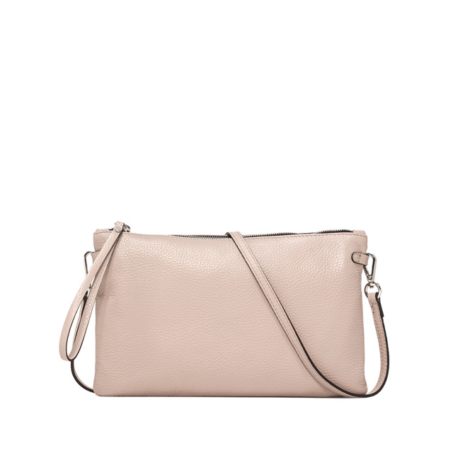 GIANNI CHIARINI: LARGE SIZE HERMY CLUTCH COLOR BEIGE