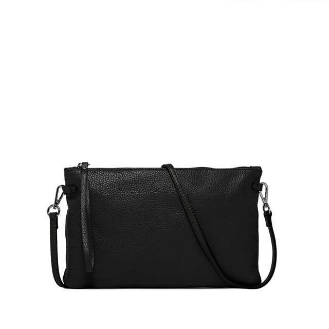 GIANNI CHIARINI: LARGE SIZE HERMY CLUTCH COLOR BLACK