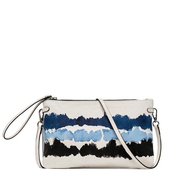 GIANNI CHIARINI SMALL SIZE TANIA CROSSBODY BAG COLOR WHITE