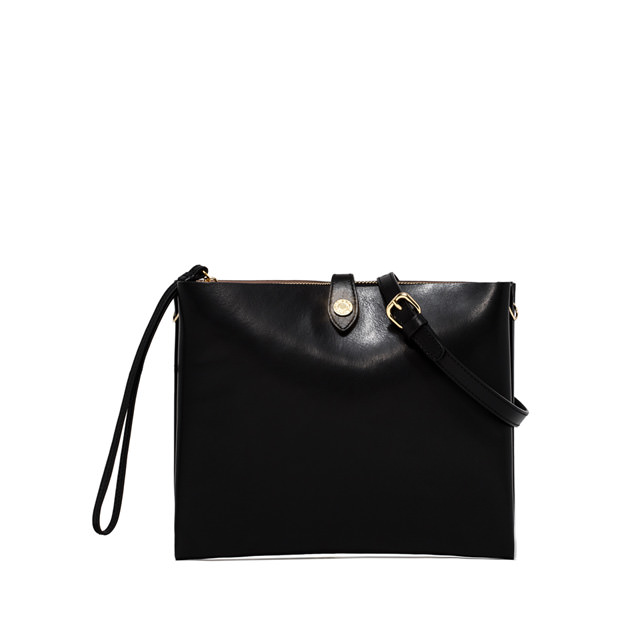 GIANNI CHIARINI POCHETTE PALOMA MEDIUM NERO