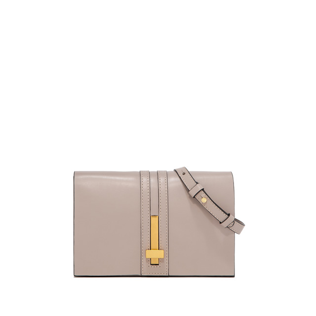 GIANNI CHIARINI SMALL SIZE PREZIOSA CLUTCH BAG COLOR BEIGE