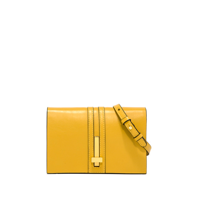 GIANNI CHIARINI: SMALL SIZE PREZIOSA CLUTCH BAG COLOR YELLOW