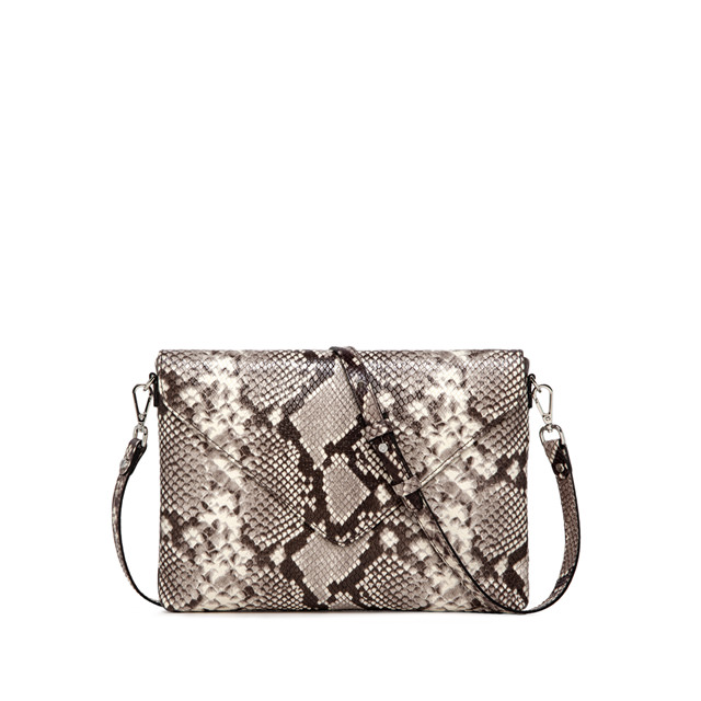 GIANNI CHIARINI VICTORIA MEDIUM BEIGE CLUTCH BAG