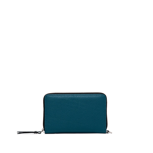 GIANNI CHIARINI BASIC IND MEDIUM SKY BLUE WALLET