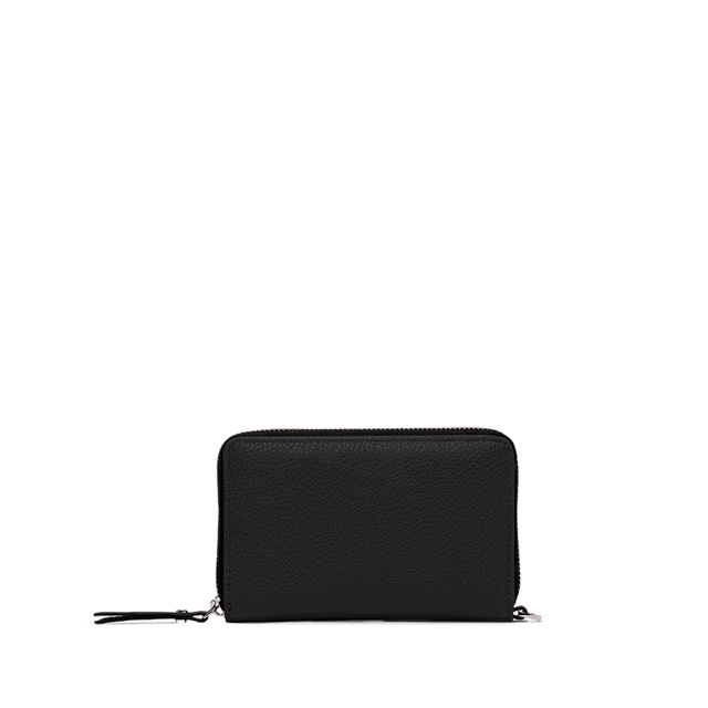 GIANNI CHIARINI BASIC IND MEDIUM BLACK WALLET