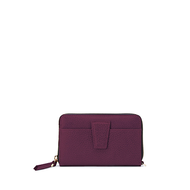 GIANNI CHIARINI ELETTRA MEDIUM BORDEAUX WALLET