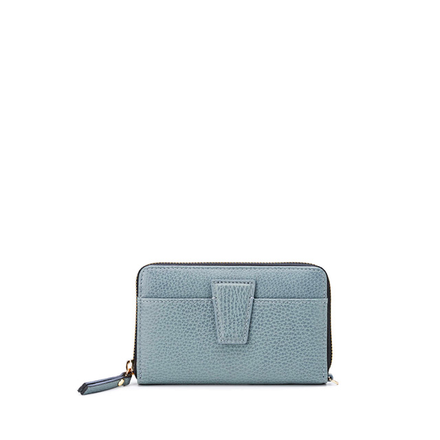 GIANNI CHIARINI ELETTRA MEDIUM LIGHT BLUE WALLET