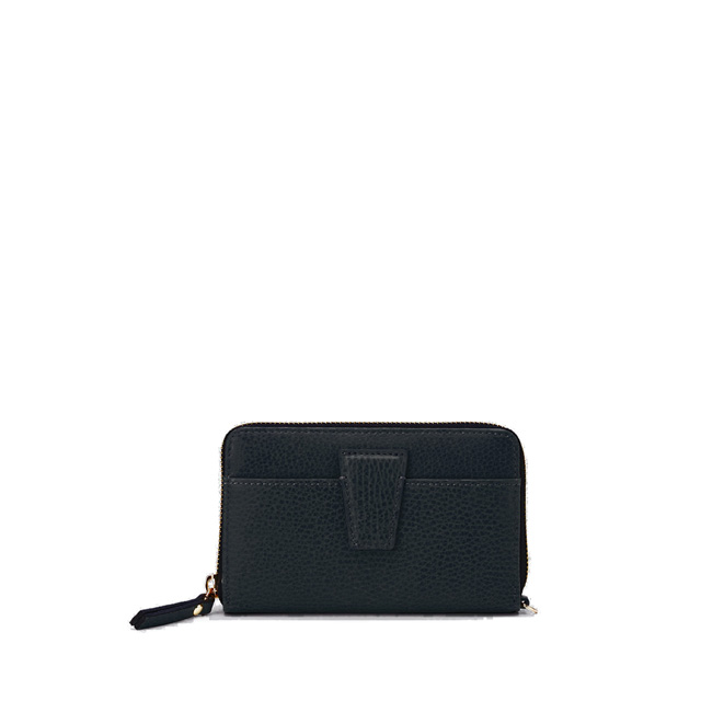 GIANNI CHIARINI: ELETTRA MEDIUM BLACK WALLET