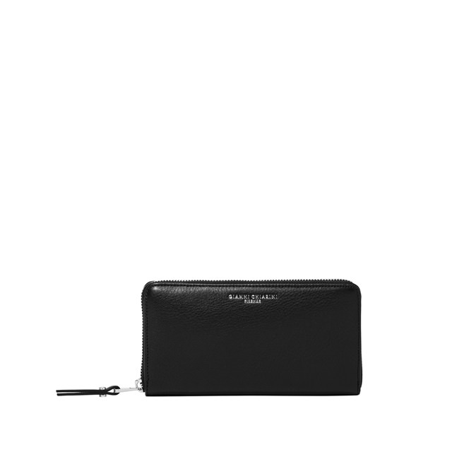 GIANNI CHIARINI LARGE SIZE ESSENTIAL WALLET COLOR BLACK