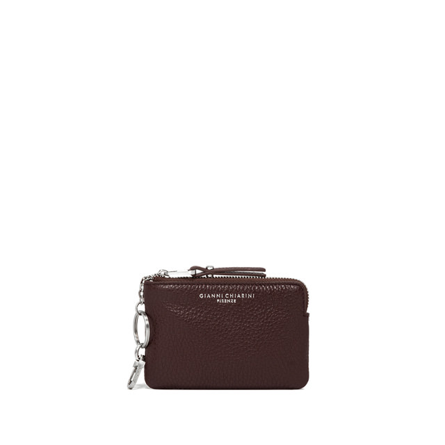 GIANNI CHIARINI: MEDIUM SIZE ESSENTIAL WALLET COLOR BURGUNDY