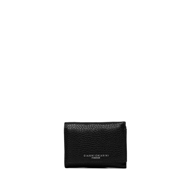 GIANNI CHIARINI MEDIUM SIZE ESSENTIAL WALLET COLOR BLACK