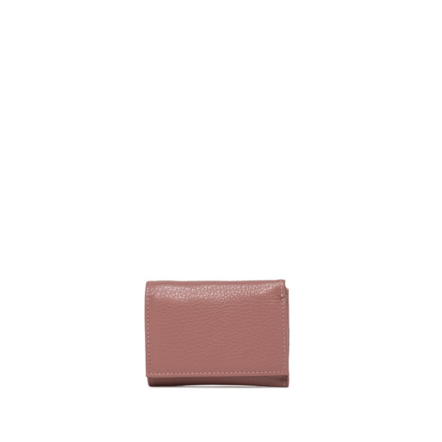 GIANNI CHIARINI: MEDIUM SIZE ESSENTIAL OASI WALLET COLOR BURGUNDY