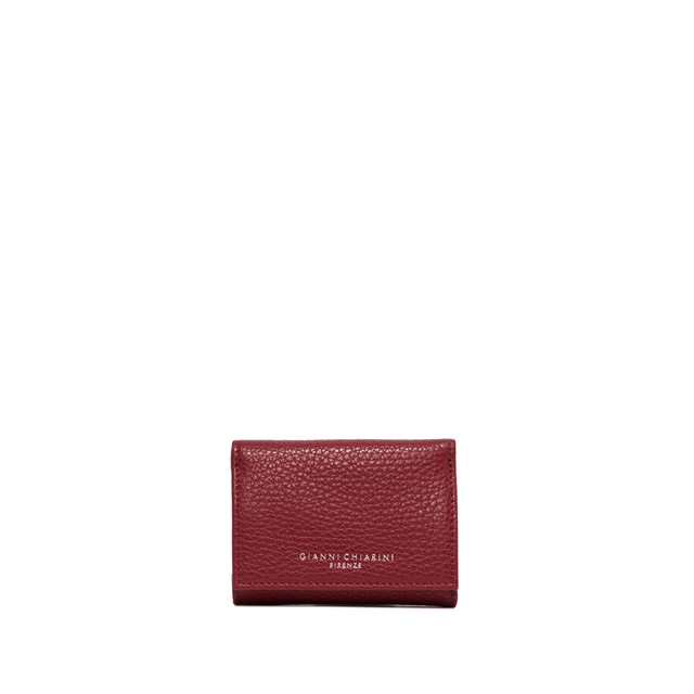GIANNI CHIARINI MEDIUM SIZE ESSENTIAL WALLET COLOR RED
