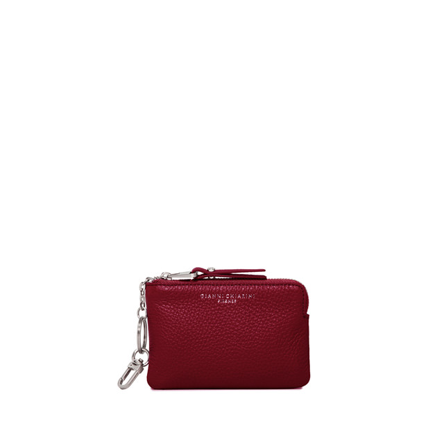 GIANNI CHIARINI: MEDIUM SIZE ESSENTIAL WALLET COLOR RED