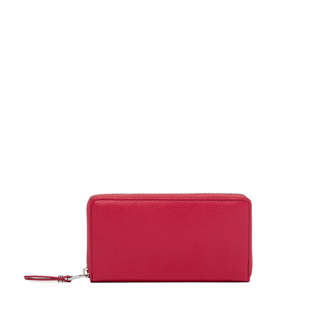 GIANNI CHIARINI: WALLET ESSENTIAL OASI LARGE COLOR FUCHSIA