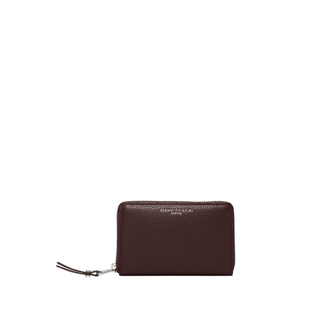 GIANNI CHIARINI LARGE SIZE ESSENTIAL WALLET COLOR RED