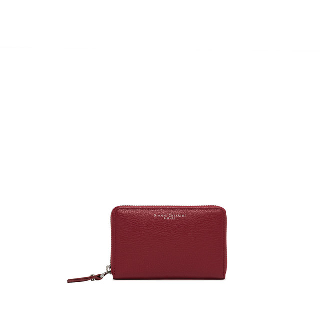GIANNI CHIARINI: MEDIUM SIZE ESSENTIAL OASI WALLET COLOR PINK