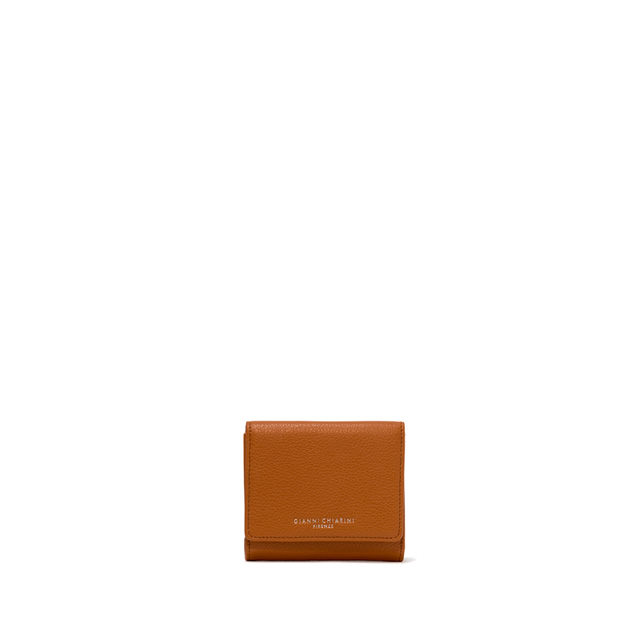 GIANNI CHIARINI: WALLETS ESSENTIAL OASI SMALL ORANGE