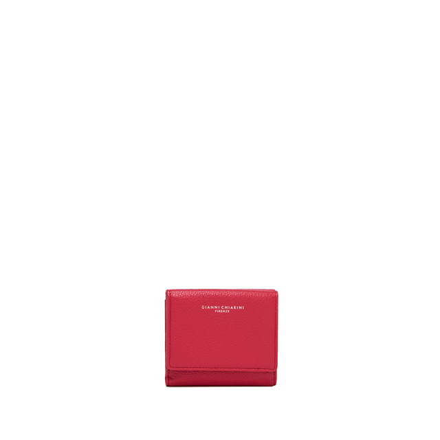 GIANNI CHIARINI: WALLETS ESSENTIAL OASI SMALL FUCHSIA