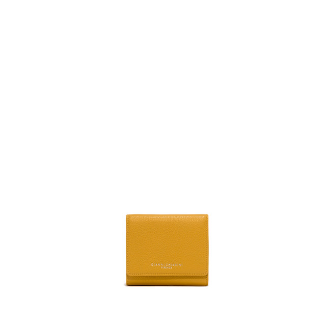 GIANNI CHIARINI: WALLETS ESSENTIAL OASI SMALL YELLOW