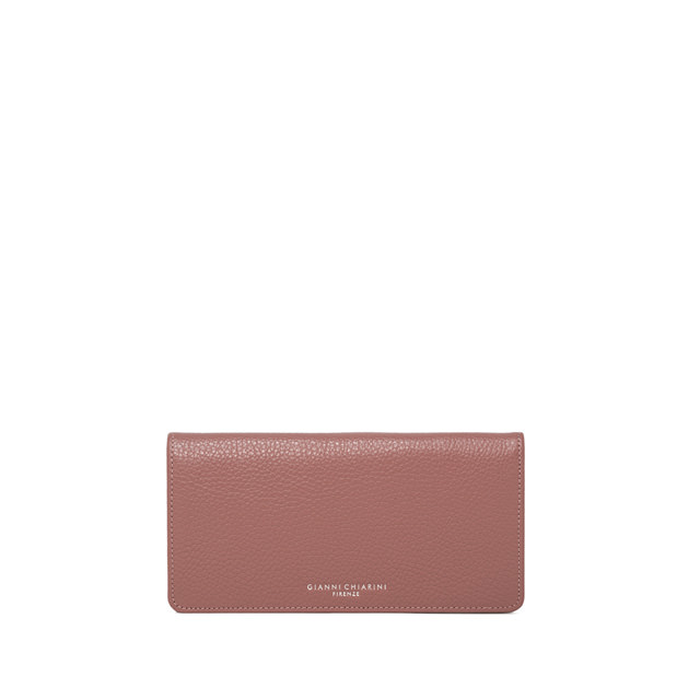 GIANNI CHIARINI LARGE SIZE GRETA WALLET COLOR PINK