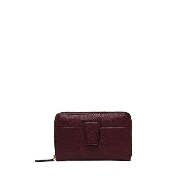 GIANNI CHIARINI: WALLETS ELETTRA MEDIUM RED WALLET