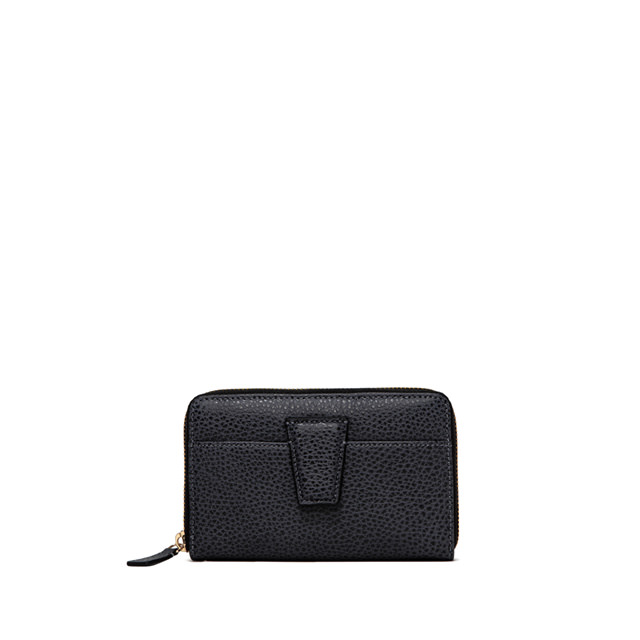 GIANNI CHIARINI: WALLETS ELETTRA MEDIUM BLUE WALLET