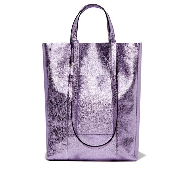 GIANNI CHIARINI: SUPERLIGHT LARGE LILAC  SHOPPING BAG