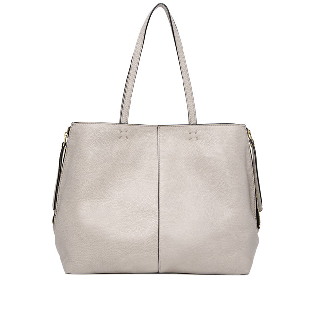 GIANNI CHIARINI LARGE SIZE ANNA SHOPPING BAG COLOR BEIGE