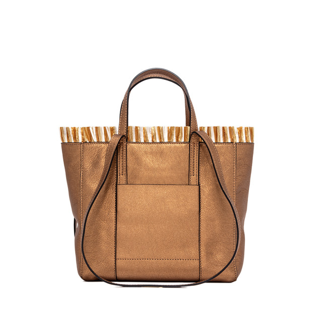 GIANNI CHIARINI: SHOPPING SUPERLIGHT TAHITI MEDIA BRONZO