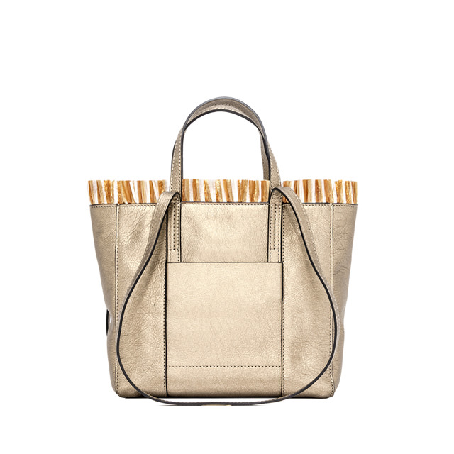 GIANNI CHIARINI: SHOPPING SUPERLIGHT TAHITI MEDIA ORO