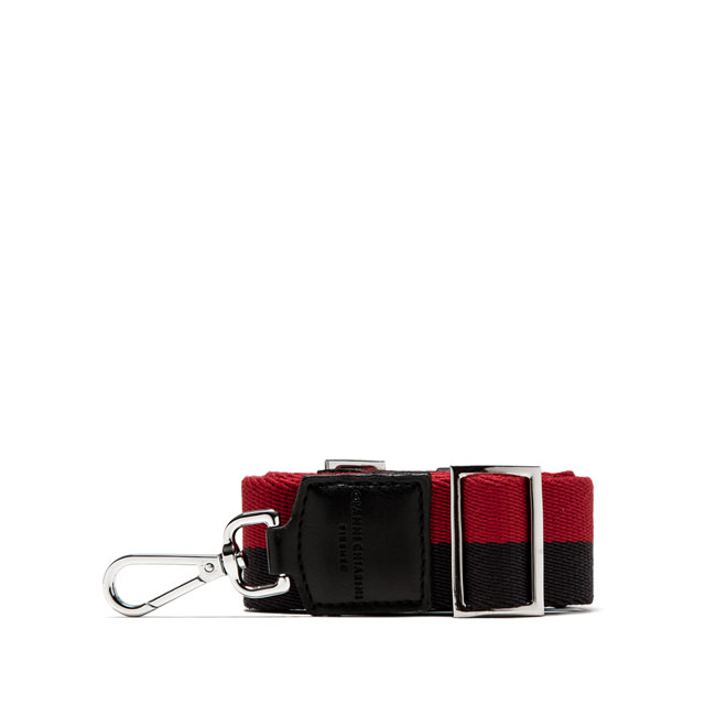 GIANNI CHIARINI DOUBLE RED/BLUE SHOULDER STRAP