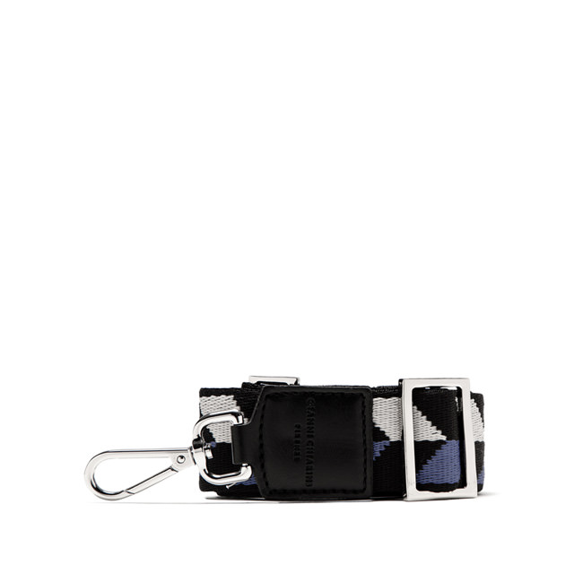 GIANNI CHIARINI ARROW BLACK SHOULDER STRAP