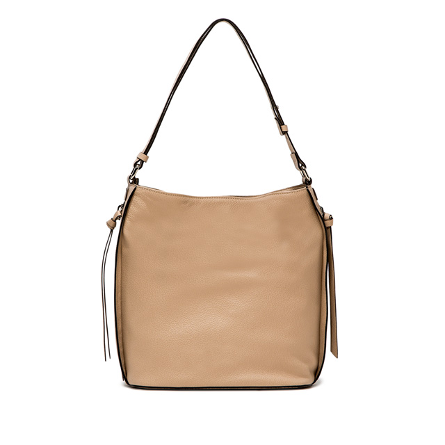 GIANNI CHIARINI: BORSA A SPALLA JANE MEDIUM NUDE