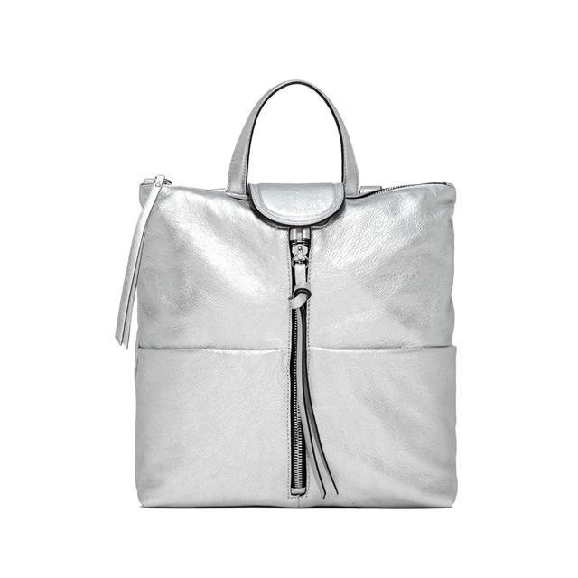 GIANNI CHIARINI MEDIUM SIZE GIADA BACKPACK COLOR SILVER