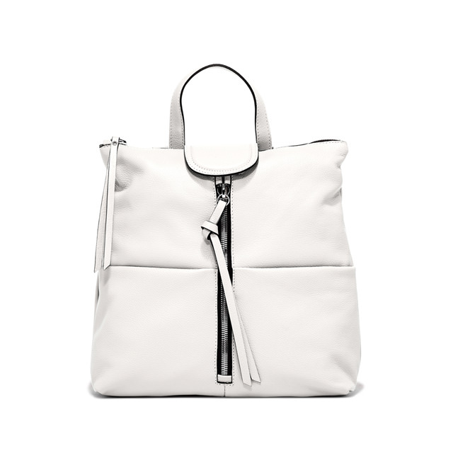 GIANNI CHIARINI: ZAINO GIADA MEDIUM BIANCO