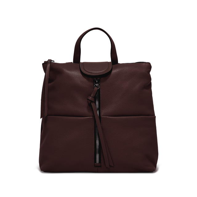 GIANNI CHIARINI: MEDIUM SIZE GIADA BACKPACK COLOR BROWN