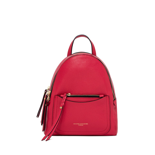 GIANNI CHIARINI OGIVA MEDIUM FUXIA BACKPACK