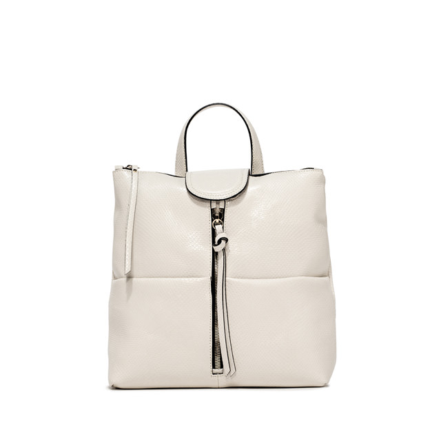 GIANNI CHIARINI ZAINO GIADA MEDIUM BIANCO