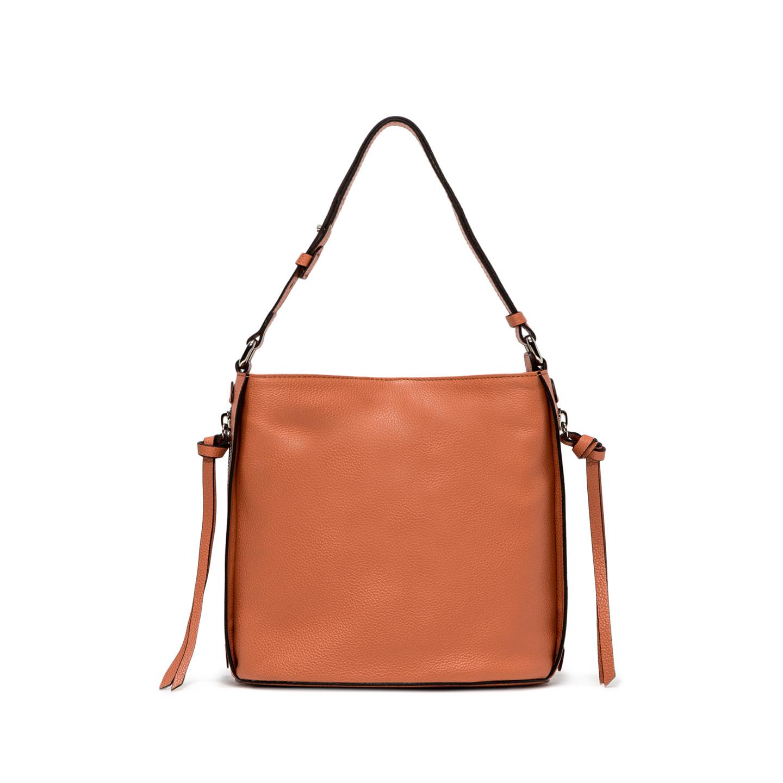 GIANNI CHIARINI: JANE SMALL ORANGE SHOULDER BAG