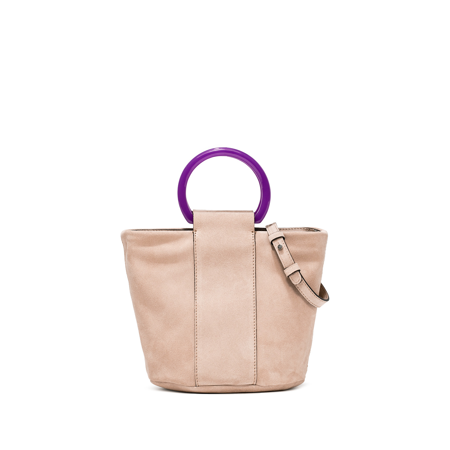 GIANNI CHIARINI: COLORELLA SMALL NUDE HANDBAG