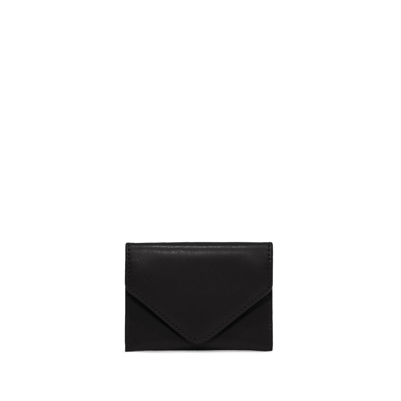 GIANNI CHIARINI: GRETA SMALL BLACK CARDHOLDER