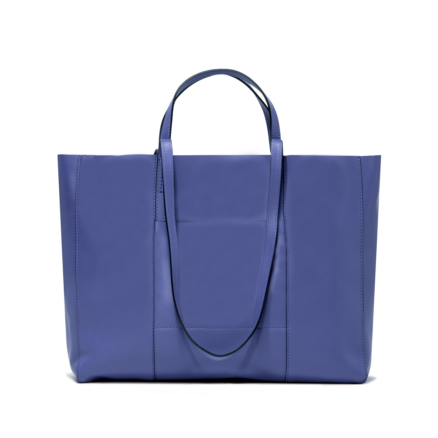 GIANNI CHIARINI: SUPERLIGHT LARGE PURPLE SHOPPING BAG